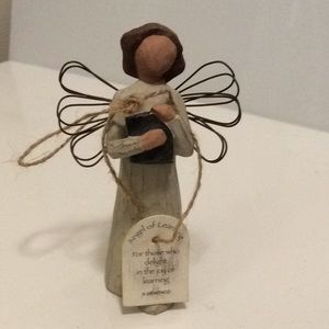 Willow Tree Angel of Learning w/ Book Teacher Gift